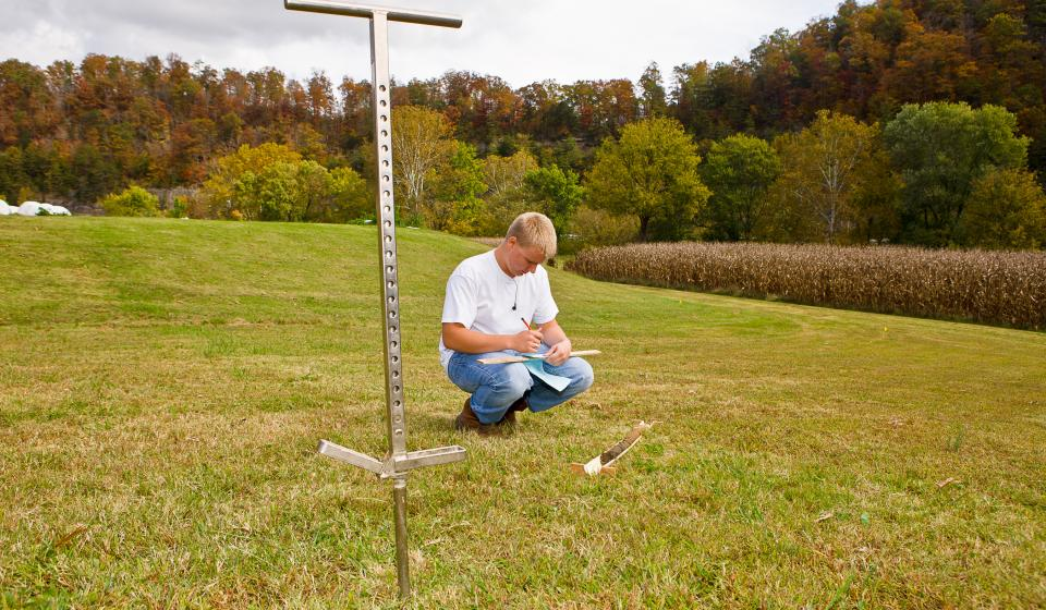 soil test pastures